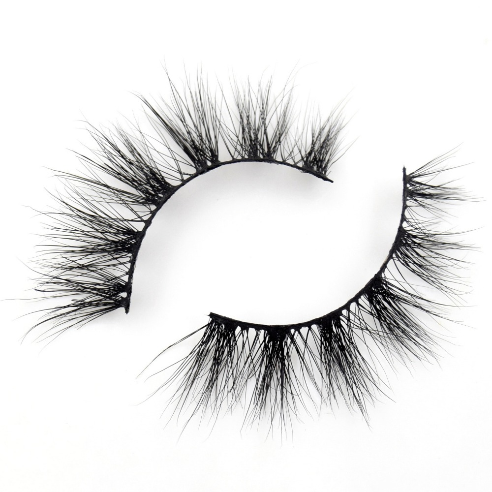 Visofree Mink Eyelashes 100% Cruelty Free Handmade 3D Mink Lashes Full Strip Lashes Soft False Eyelashes Makeup  Lashes E13