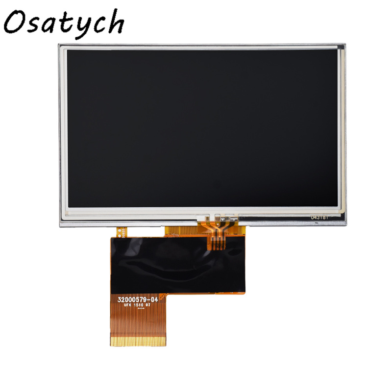 New 4.3 inch LCD Screen Display with Touch Screen Compatible with TX11D06VM2APA image