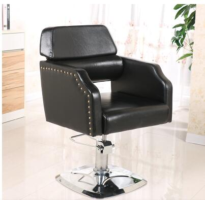 Barber's Chair Salon Hairdressing Chair Factory Outlet Barber Chair Salon Swivel Chair the bar chair hairdressing pulley stool swivel chair master chair technician chair