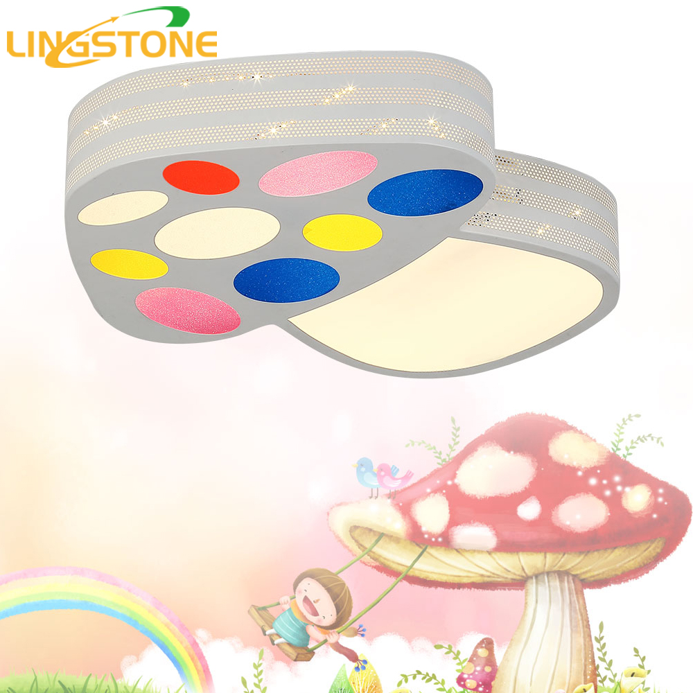 Led Ceiling Lights Bedroom Lamp Living Room Lighting Fixtures Kids Plafondlamp Mushroom Decorative Child Baby Room Light Ceiling