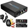 1 ШТ. Новый Полный 1080 P HD HDMI До 3 RCA AV CVBS Composite & S-Video R/L Аудио Конвертер Адаптер