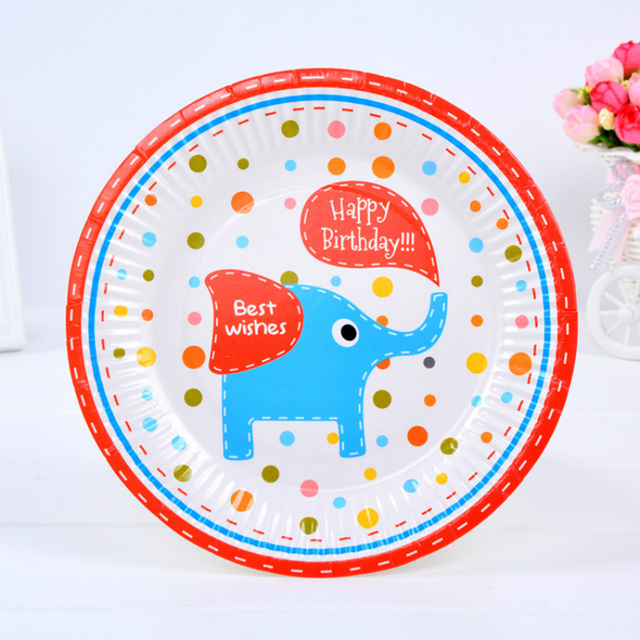 6pcs/pack 7inch Cartoon Disposable Plates High Quality Paperboard Plate Event Children Birthday Party Decoration  sc 1 st  AliExpress.com & 6pcs/pack 7inch Cartoon Disposable Plates High Quality Paperboard ...