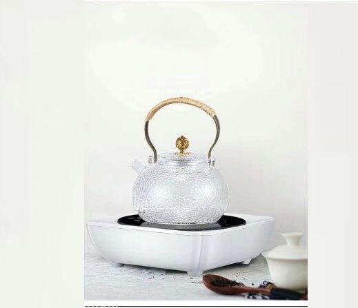Cuisinière électrique en céramique cuisinière à thé ménage mini marmite un interrupteur à clé automatique de mise hors tension 1000 w BBQ cuisinière radiante