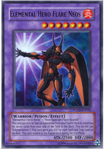 DP03-EN013 Elemental Hero Flare Neos Rare 1st Edition Mint YuGiOh Card