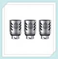Подлинная 3pcs-pack smok замена катушки Smok TFV8 Облако Зверь Бак принимает 4 уникальная Запатентованная Турбо Двигателей