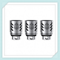 Genuino 3pcs-pack bobinas de repuesto para smok smok tfv8 nube bestia del tanque adopta 4 patentado único turbo motores