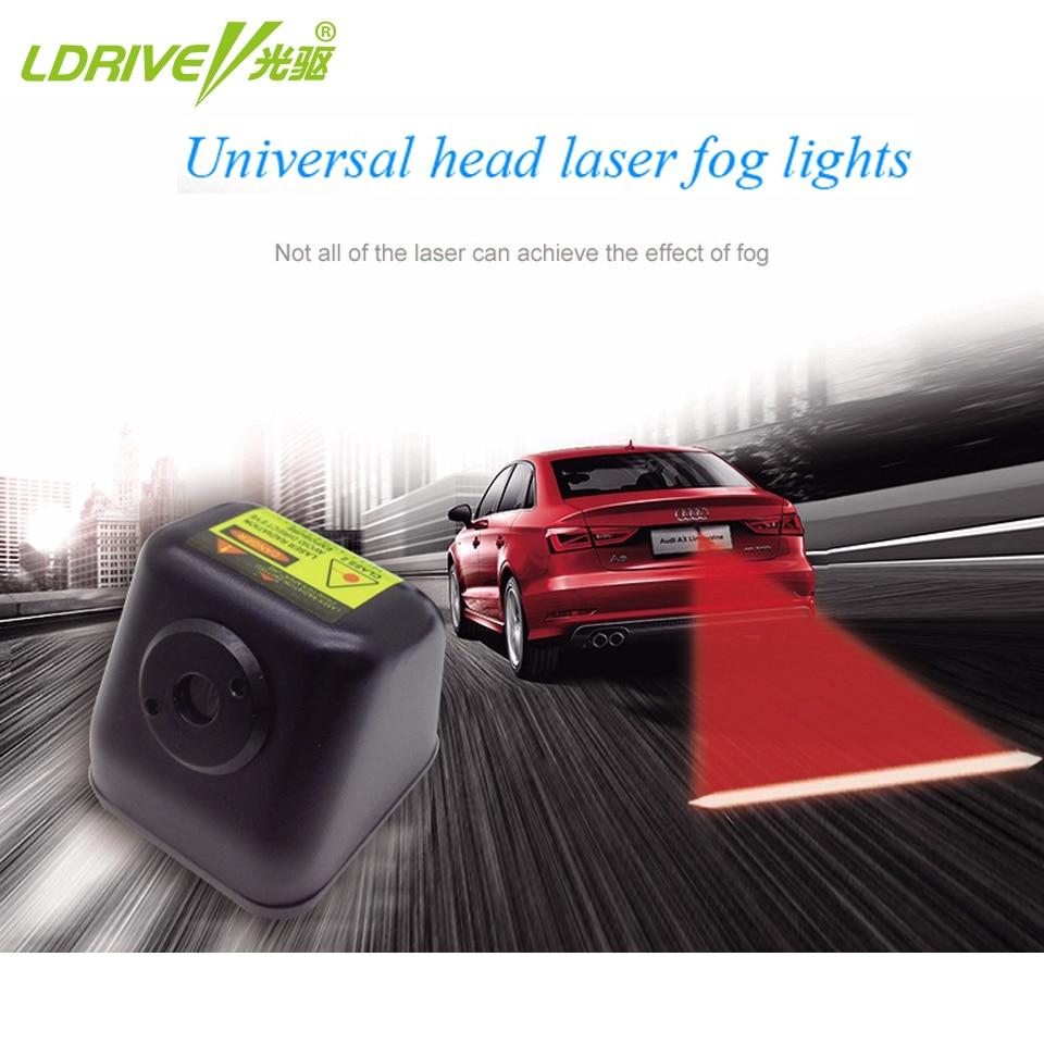 Kokkupõrkevastane tagumine autolaser tagumine auto udutulede - Autotuled