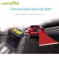 Anti Collision Rear End Car Laser Tail Car Fog Light Auto Brake 12V LED Car Warning
