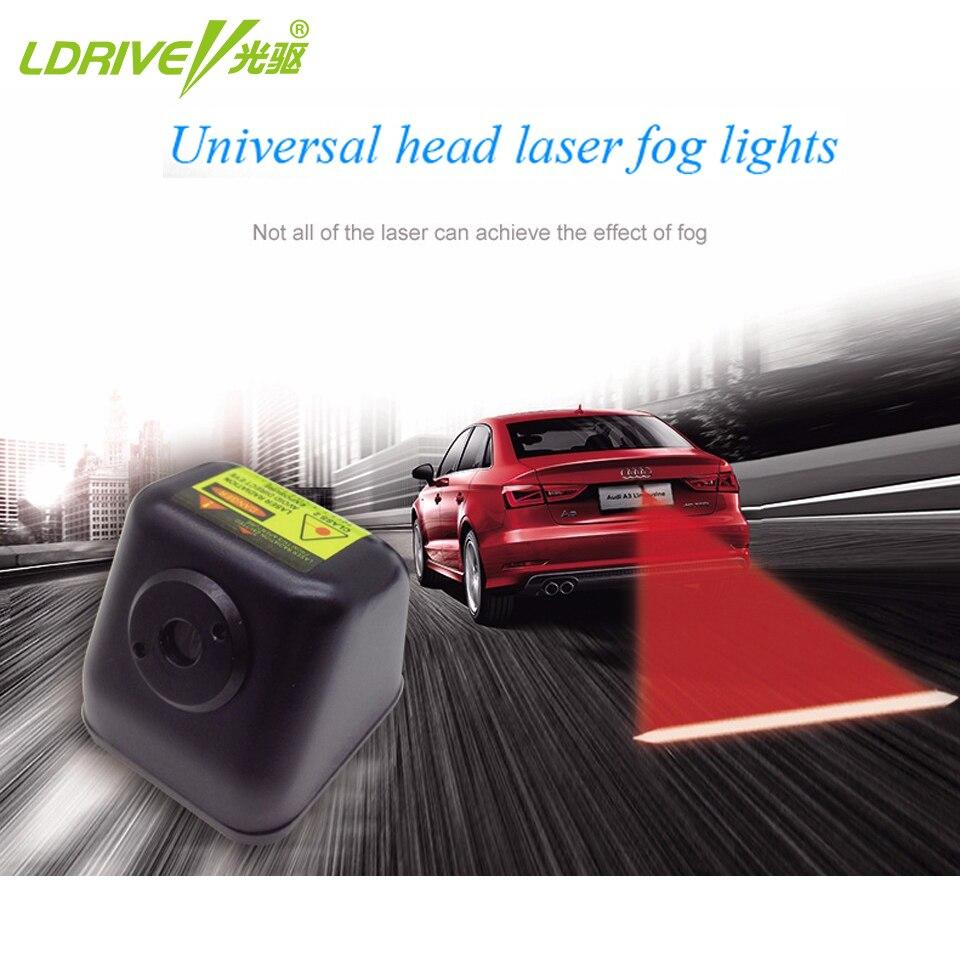 Anti Kollision Hinten-ende Auto Laser Schwanz Auto Nebel Licht Auto Bremse 12V LED Auto Warnung Licht Auto parkplatz Lampe Aufzucht Auto Styling