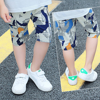 Boy camouflage color pants For Autumn toddler pants Children's Fashion clothes for age 3 4 5 6 7 8 9 10 11 12 13 14 year FTTX355
