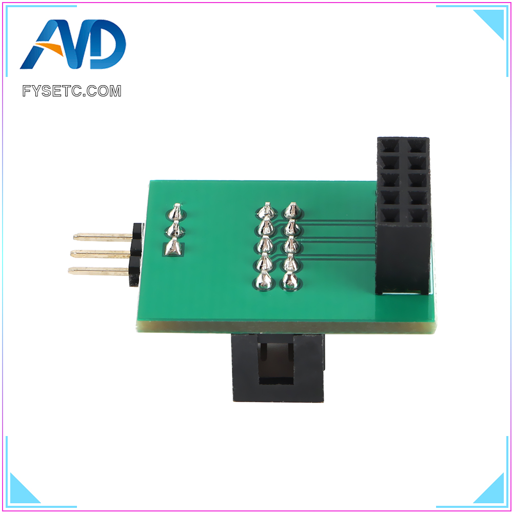 Wider Power Channel Pin 27 Board Adapter Sensor Upgrade For <font><b>Creality</b></font> CR-10 Ender 5 Ender 3 Pro <font><b>BL</b></font>-<font><b>TOUCH</b></font> BLTouch 3D Printer Parts image
