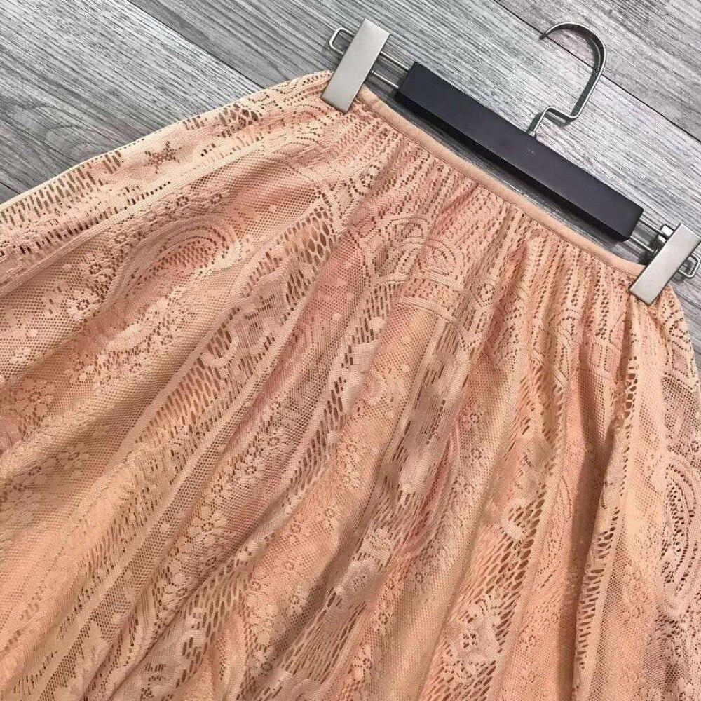 2019 ฤดูร้อนใหม่น่ารักกระโปรงลูกไม้กระโปรงสตรี 190331FK01-ใน กระโปรง จาก เสื้อผ้าสตรี บน   3