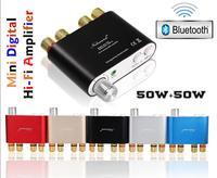 2016 Lastest Nobsound NS 10G Bluetooth 4 0 Mini Digital Amplifier Stereo HiFi Power Amp 50W