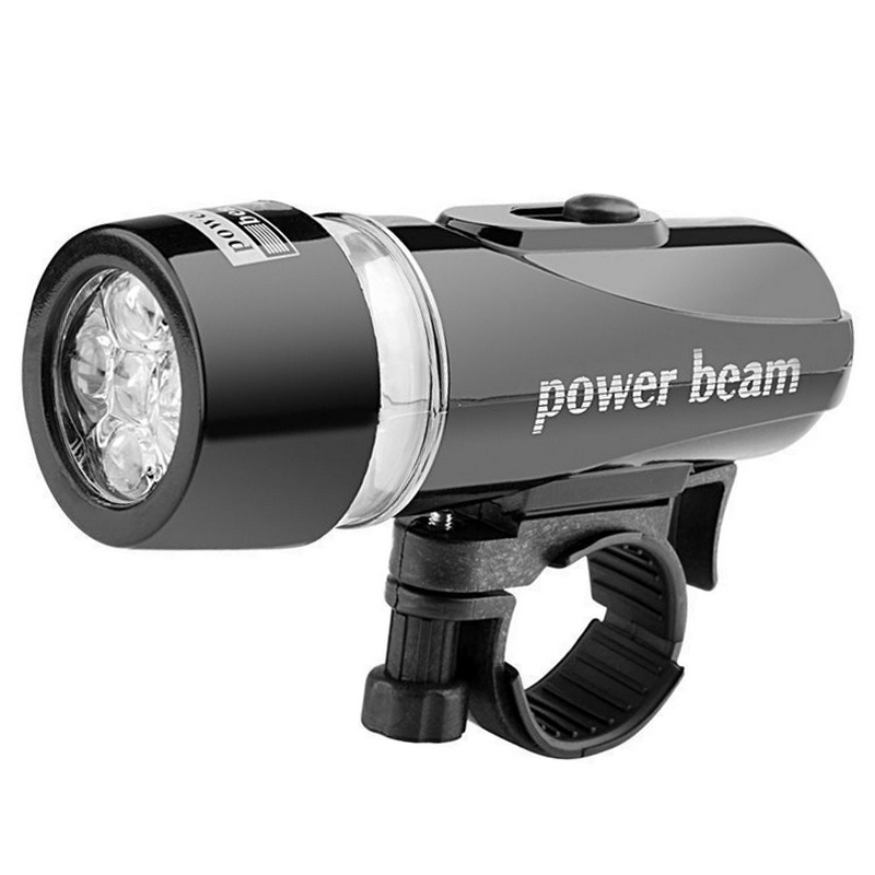 Newly Multifunction 5 LED Lamp Bike Bicycle Front Head Light Rear Waterproof Safety Flashlight Kits BN99