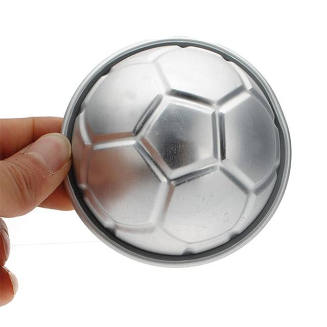 Free Shipping 1pc Soccer Ball 3d Sports Football Birthday Cake Pan