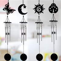 Metal Wind Chime Aluminum Tube Music Creative Gifts Home Furnishing Decoration 12*7.5*5CM
