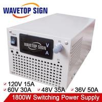 1800W switching power supply 60V 30A 48V 35A 36V 50A 120V 15A use for laboratory