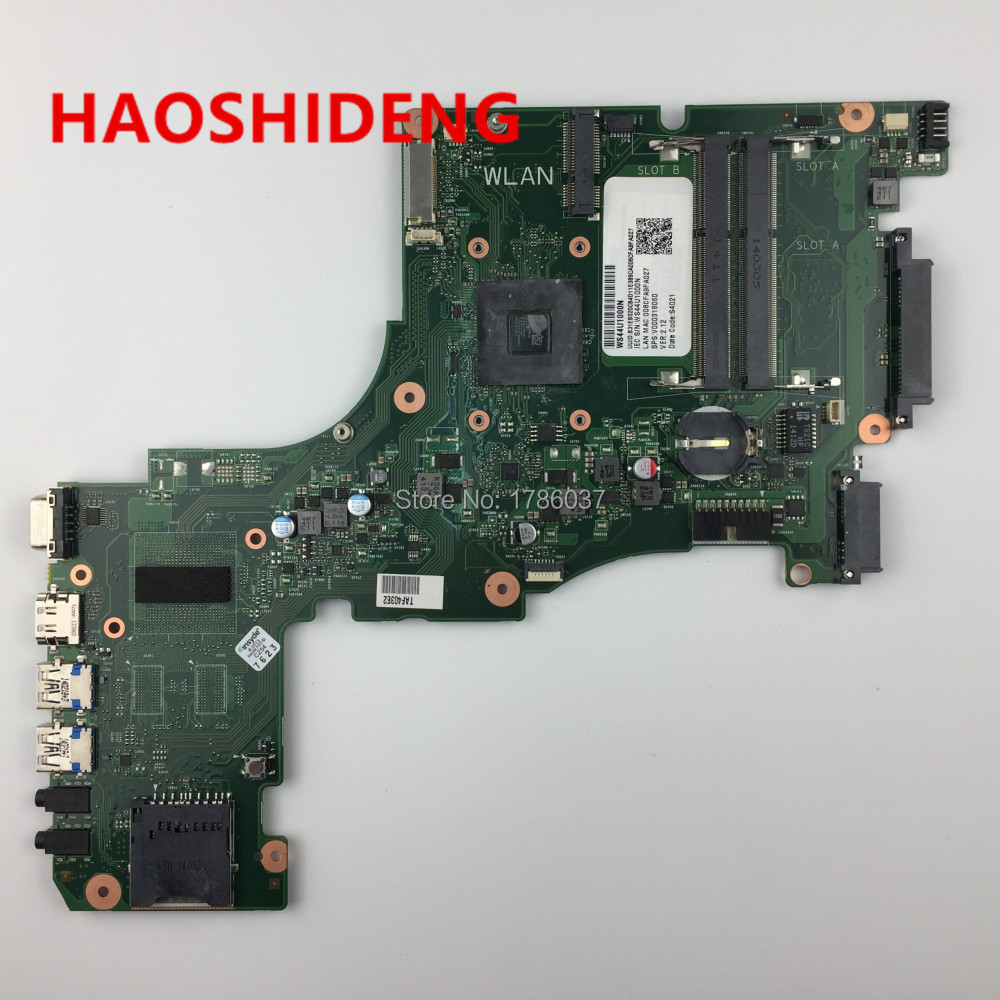 V000318060 for Toshiba Satellite L50D L55D L55DT-A5253 motherboard  A6-5200 2.0Ghz  CPU.All functions fully Tested ! nokotion sps v000198120 for toshiba satellite a500 a505 motherboard intel gm45 ddr2 6050a2323101 mb a01