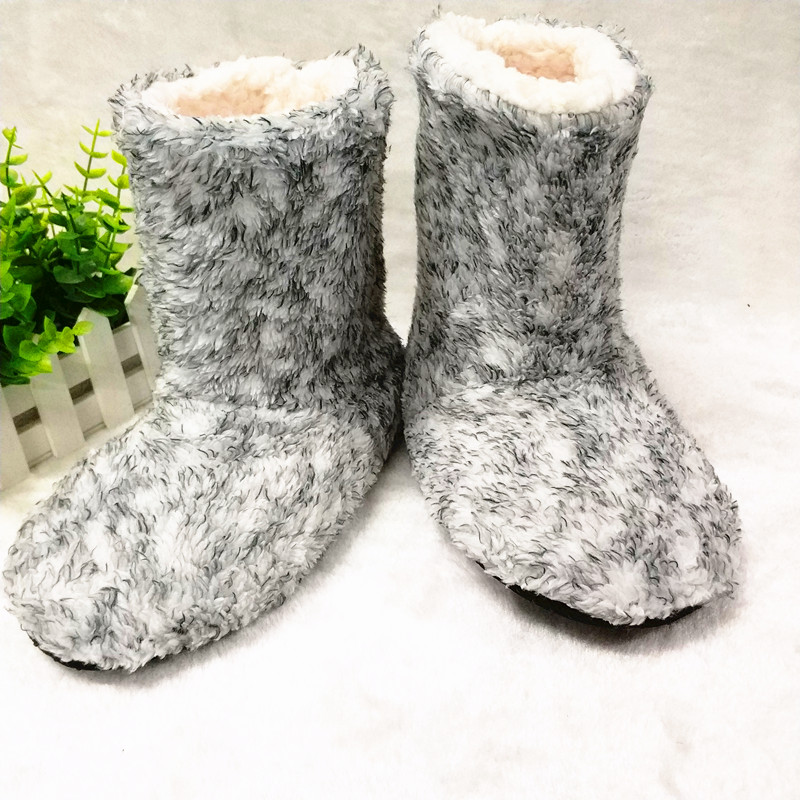 high quality New Warm Flats Soft Sole Women Indoor Floor Slippers/Shoes  Shape  Flannel Home Slippers stone village new warm flats soft sole women indoor floor slippers shoes comfortable indoor shoes fur bunny slippers plush socks