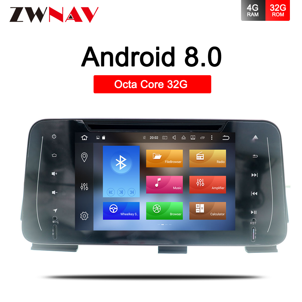 4+32G Android 8.0 <font><b>Car</b></font> DVD radio Stereo For NISSAN Kicks 2014-2018 Auto Radio GPS Navigation <font><b>Audio</b></font> <font><b>Video</b></font> Multimedia headunit WIfi image