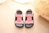 Baby sandalen lederen wit roze rood meisjes jongens sandalen