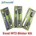 Cigarrillo electrónico Ego vapor evod MT3 Evod Kit Blister 1.6 ml e cig mt3 atomizador con batería evod batería kit de inicio evod MM