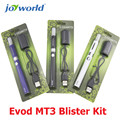 Electronic cigarette Ego Evod MT3 Blister Kit 1.6ml vapor evod e cig mt3 atomizer with evod battery starter kit battery evod MM