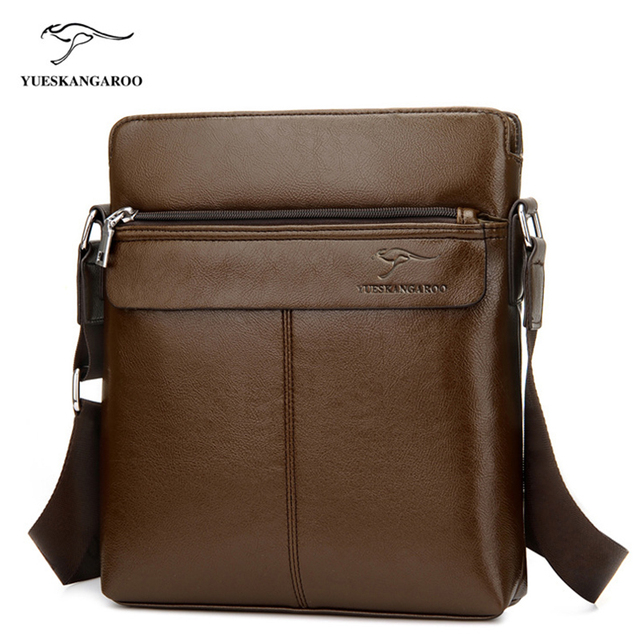Aliexpress.com : Buy YUES KANGAROO Men Bag Leather Men Shoulder ...