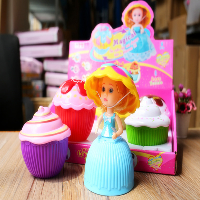 The new 15cm cake doll transformed cake princess doll dress is an ideal gift for girls