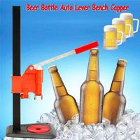 Top Quality Beer Bottle Capper Auto Lever Bench Capper Home Brew Manual Capping Machine Bar Accessories