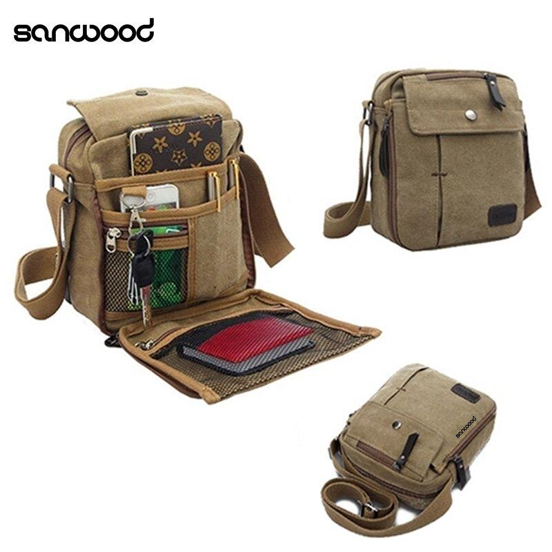 2016-new-fashion-men's-vintage-canvas-multifunction-travel-satchel-casual-messenger-shoulder-bag
