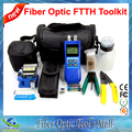 Fiber Optic Tools with Optical Power Meter Visual Fault Locator 10mw and Cliveuse pour Fibre Optique