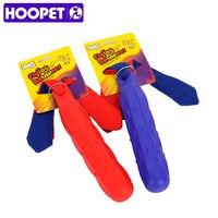 HOOPET Dog Chew Toy TPR Chất Liệu Blue Red Nha Khoa Xoa Bóp đồ chơi Cho Pet Đào Tạo Chống cắn Mol Sạch Mọc Răng Stick
