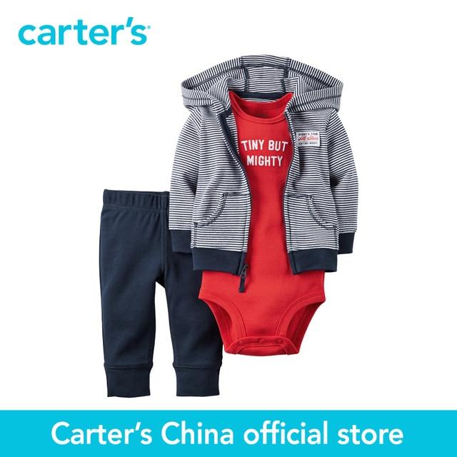 Картера 3 шт. детские дети дети Babysoft Кардиган Набор 126G288, продавец картера Китай официальный магазин