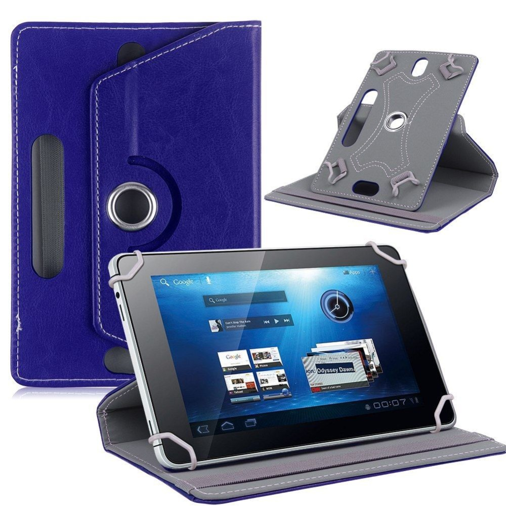 360 Rotating PU Leather cover case For Acer Iconia One 7 B1-780 / One7 Tablet Universal Tablet Stand cases (No camera hole)