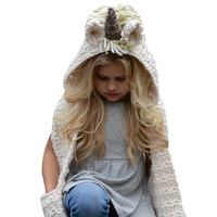 Winter Hats For Kids Baby Knitted Wool Hat Caps For Girls Boys Crochet Cute Baby Kids