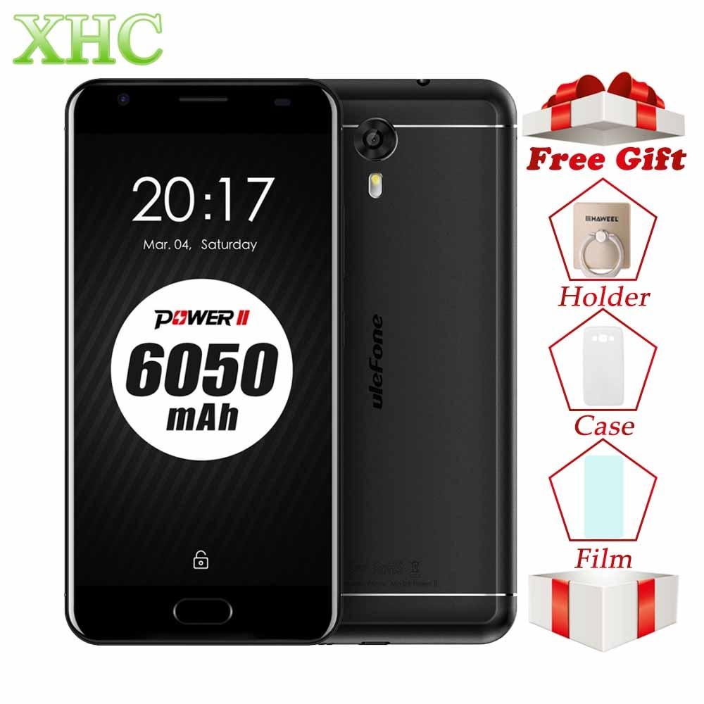 Ulefone Power 2 64GB 6050mAh Mobile Phone 5.5 inch Android 7.0 MTK6750T Octa Core RAM 4GB 1920 x 1080 pixels Dual SIM Smartphone