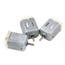 3Pcs Miniature DC Motor DIY Toy 130 Small Electric 3V to 6V Low Voltage