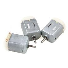 3Pcs Miniature DC Motor DIY Toy 130 Small Electric Motor 3V to 6V Low Voltage цены
