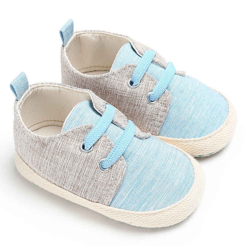 FOCUSNORM Baby Boy Girl 2019 Newest Style Anti-slip Soft Sole Crib Shoes Newborn Sneakers Prewalkers 3-11Months