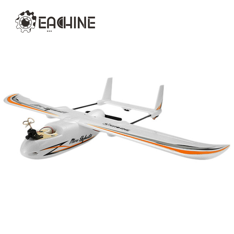 Eachine Micro Skyhunter 780mm Wingspan EPO FPV RC Airplane PNP With Camera Hot Sale fpv x uav talon uav 1720mm fpv plane gray white version flying glider epo modle rc model airplane