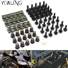 motorcycle accessories fairing screw bolt windscreen screw FOR SUZUKI GSXR 600/750 GSX-R 600/750 1000 K1 K2 K3 K4 K5 K6 K7 K8 K9 стоимость