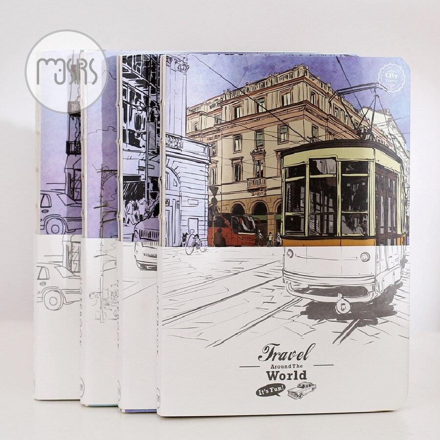 nouveau voyage sketchbook journal dessin graffiti peinture croquis livre 80 feuille vintage notebook papier bureau fournitures s