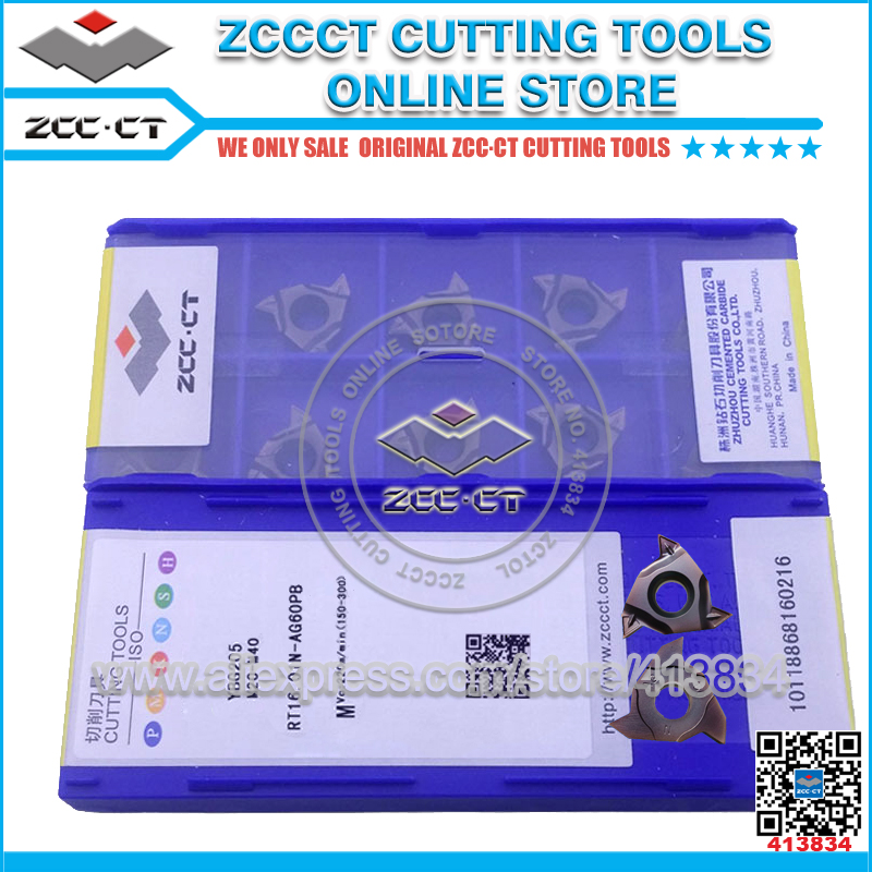 Free Shipping 100PCS RT16.01N-AG60PB YBG201 ZCCCT cutting tool cnc turning plate threading inserts for internal cut free shipping zccct cutting tools cnc turning tool inserts and tool holder 1 pack