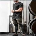Shorts da carga dos homens shorts de algodão casuais lazer homem sportswear calças de beisebol 2016 New SEOBEAN pugilistas dos homens da marca