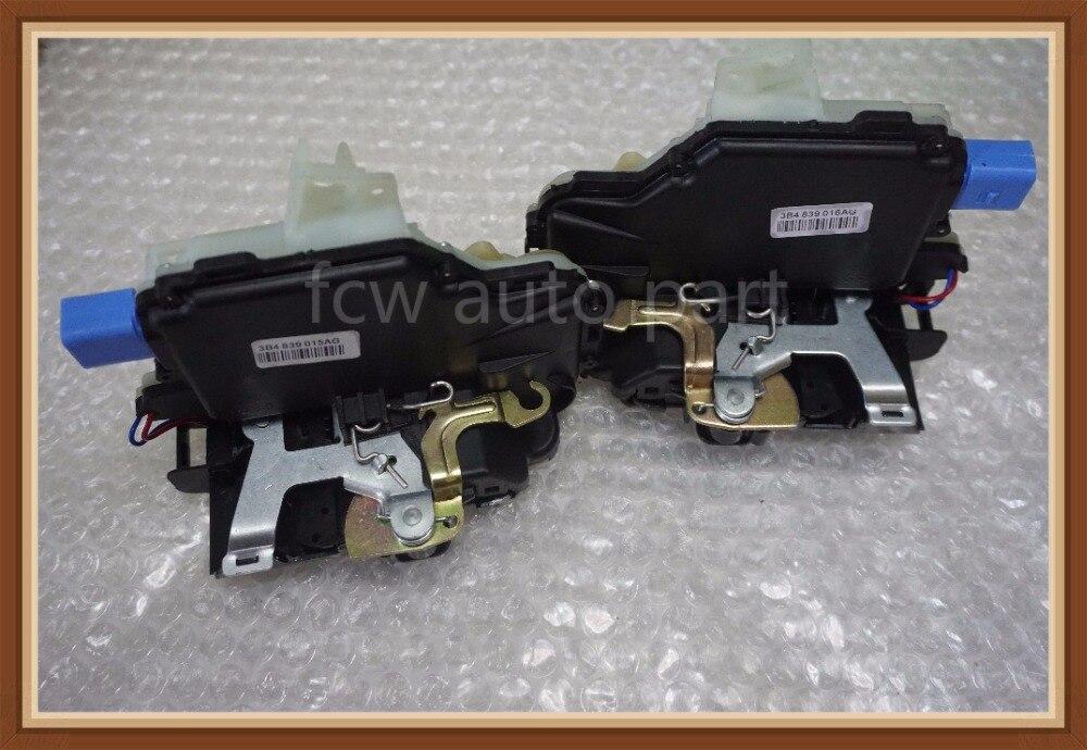 Mécanisme CENTRAL d'actionneur de serrure de porte latérale droite arrière gauche pour VW POLO 9N VW T5