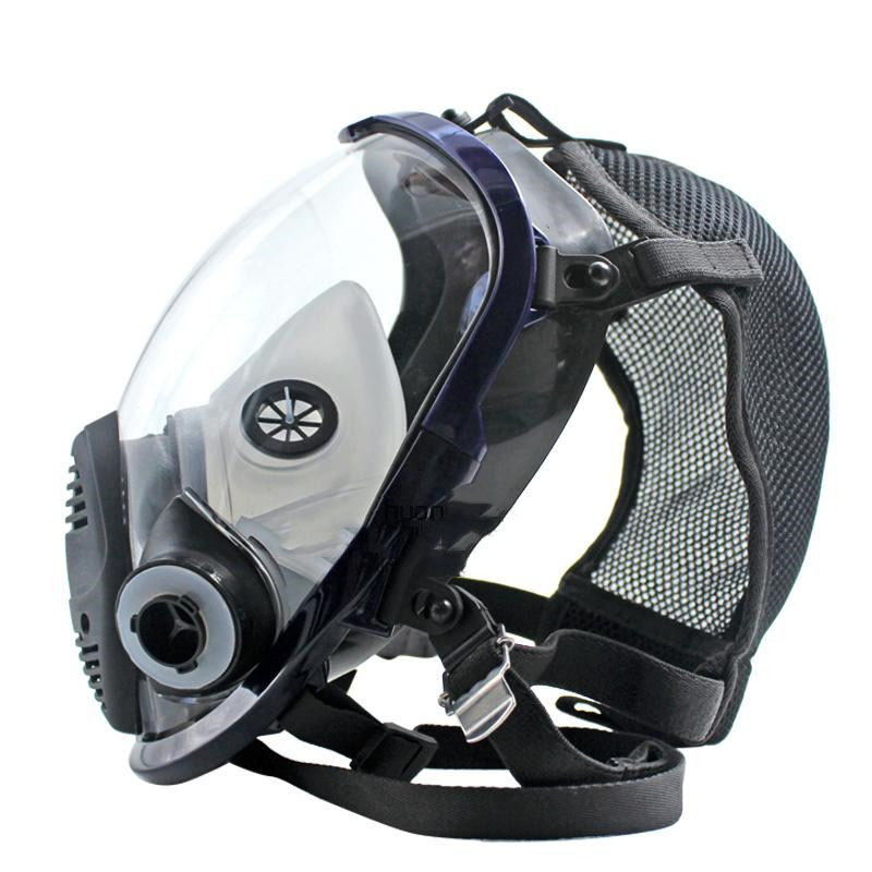 Full Face Gas Mask Large Field for Chemical Respirator  Against Inorganic Gases or Vapors Anti-formaldehyde KR001