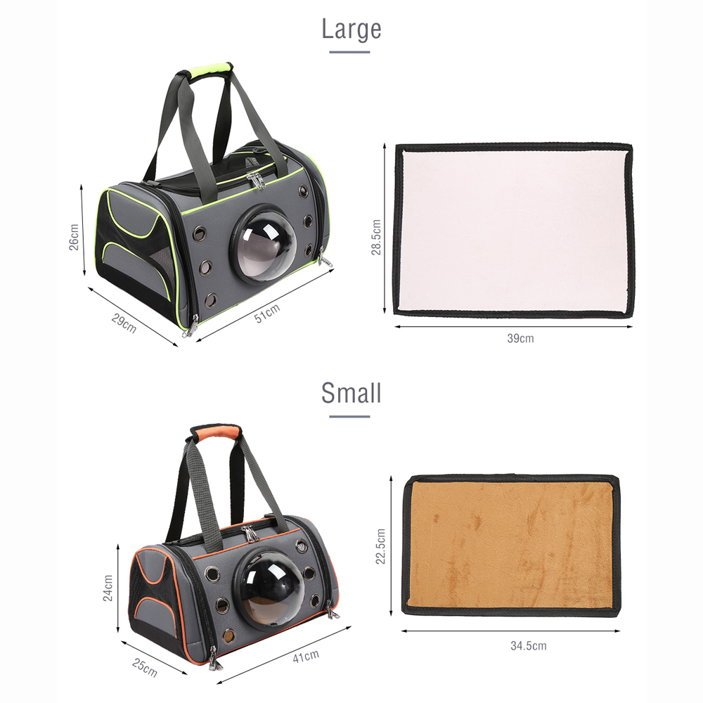 Pet Dog Carrier Bag Space Capsule Shape Breathable Handbag Puppy Outdoor Travel Shoulder Bag Soft Kennel Large Small Dogs Cats #6