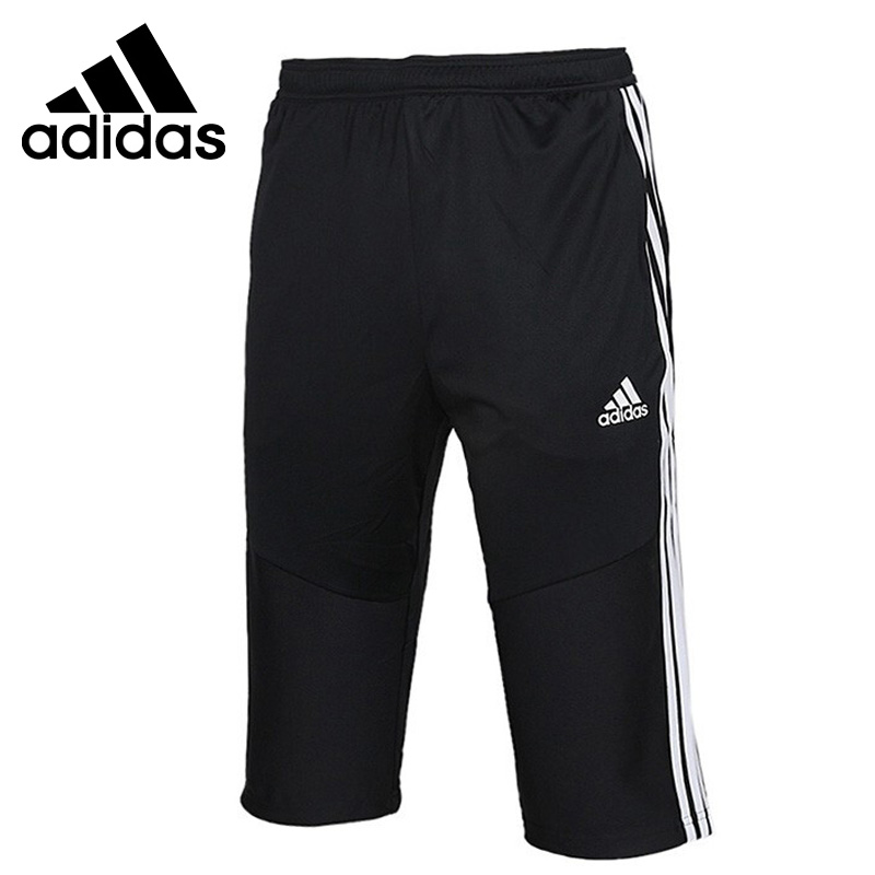 Hacer jardín vender  Novedad Original, Adidas TIRO19 3/4, pantalones cortos para hombre, ropa  deportiva|Pantalones cortos para correr| - AliExpress