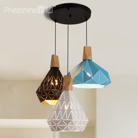 Современная Nordic AMBIT подвесные светильники Дания цветные Макарон алюминиевый подвесной светильник LED кухня ресторан свет потолочных светил